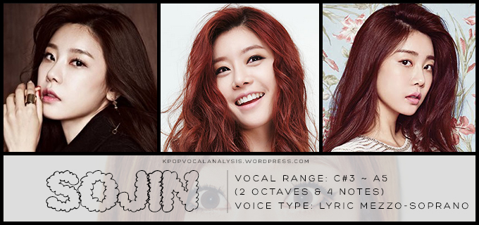 Jin vocal range
